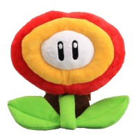 Peluche Fleur de Feu Mario